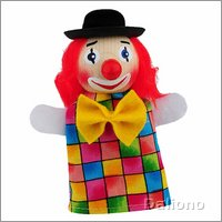 Fingerpuppe Clown (lacht) - KERSA Fipu