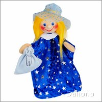 Hand puppet tooth fairy Holly - KERSA classic
